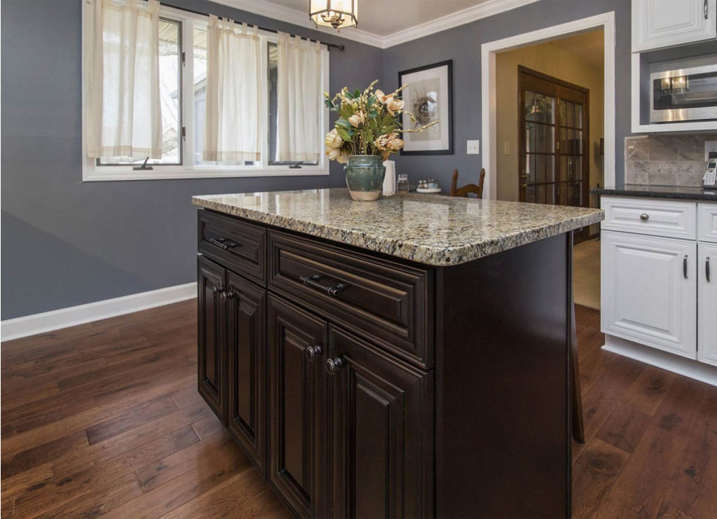 Solid Wood Dark Chocolate Cabinets For Your Perfect Kitchen Cgd