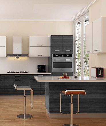 Kitchen Cabinets Dark Wood And White Color Designs | Cabinets and Granite Direct