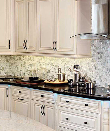 Kitchen Design In White Cabinets Made By CGD